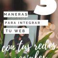 integrar web con redes sociales