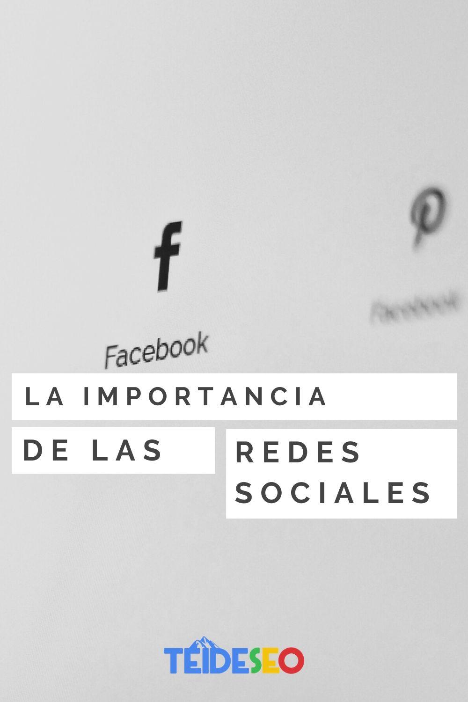 las redes sociales son importantes