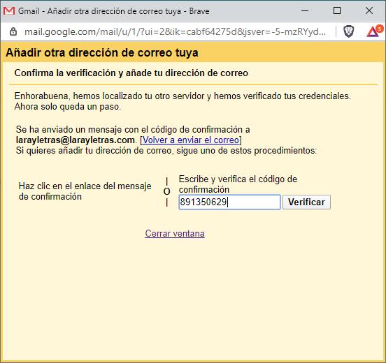 Cómo utilizar correo Cpanel en Gmail