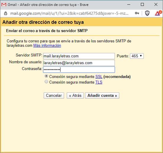 Cómo usar gmail para otro dominio