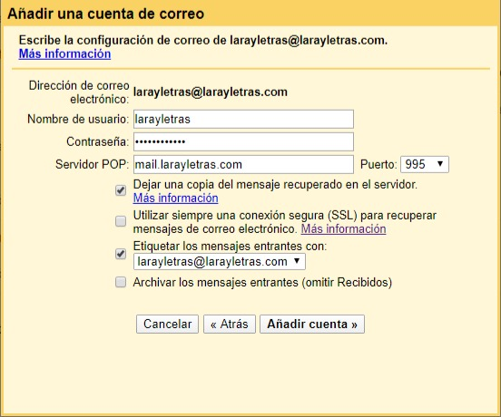 cómo tener dos cuentas en gmail