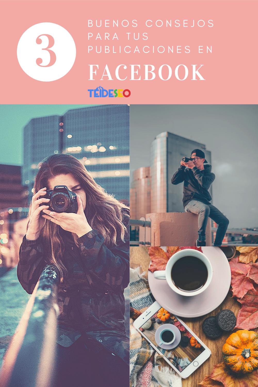consejos para publicaciones en facebook