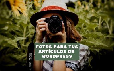 Cómo añadir una imagen destacada a un artículo de WordPress