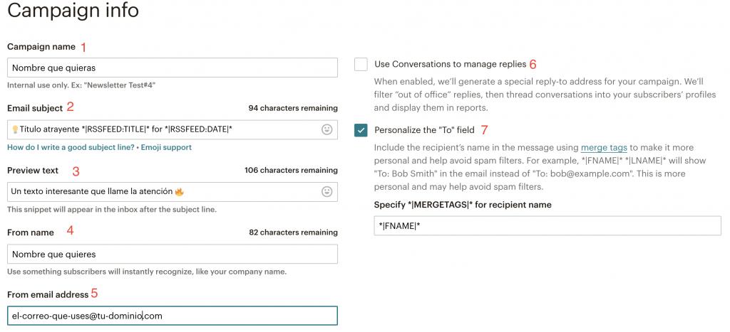 configurar actualizaciones blog wordpress