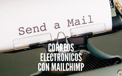 Enviar un correo con Mailchimp