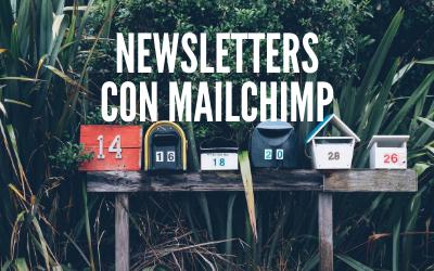 Crear Newsletter en Mailchimp