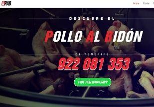 página web para restaurantes