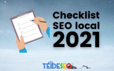 Checklist de SEO local para hacer crecer tu negocio en 2021