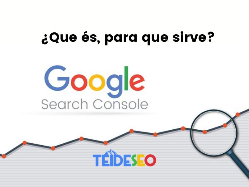 que es google search console