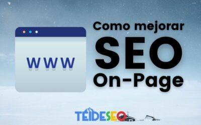 Como mejorar el SEO On-Page