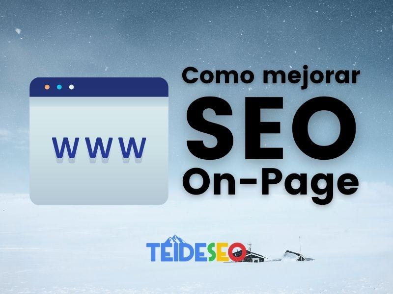 como mejorar on page