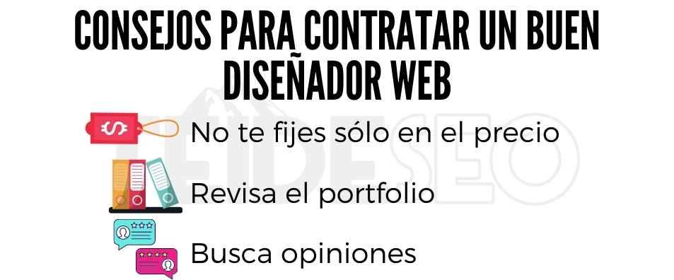 consejos para contratar un buen diseñador web