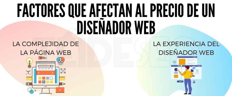 coste diseñador web