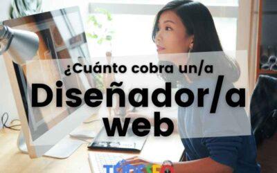 ¿Cuánto se le paga a un diseñador de páginas web?