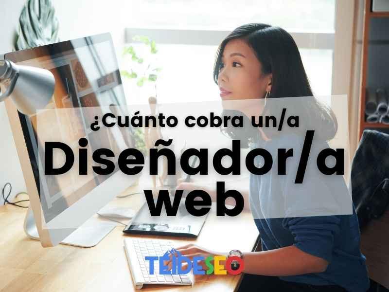 cuánto cobra un diseñador web