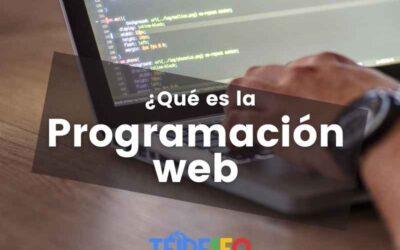 ¿Qué es la programación de páginas web?