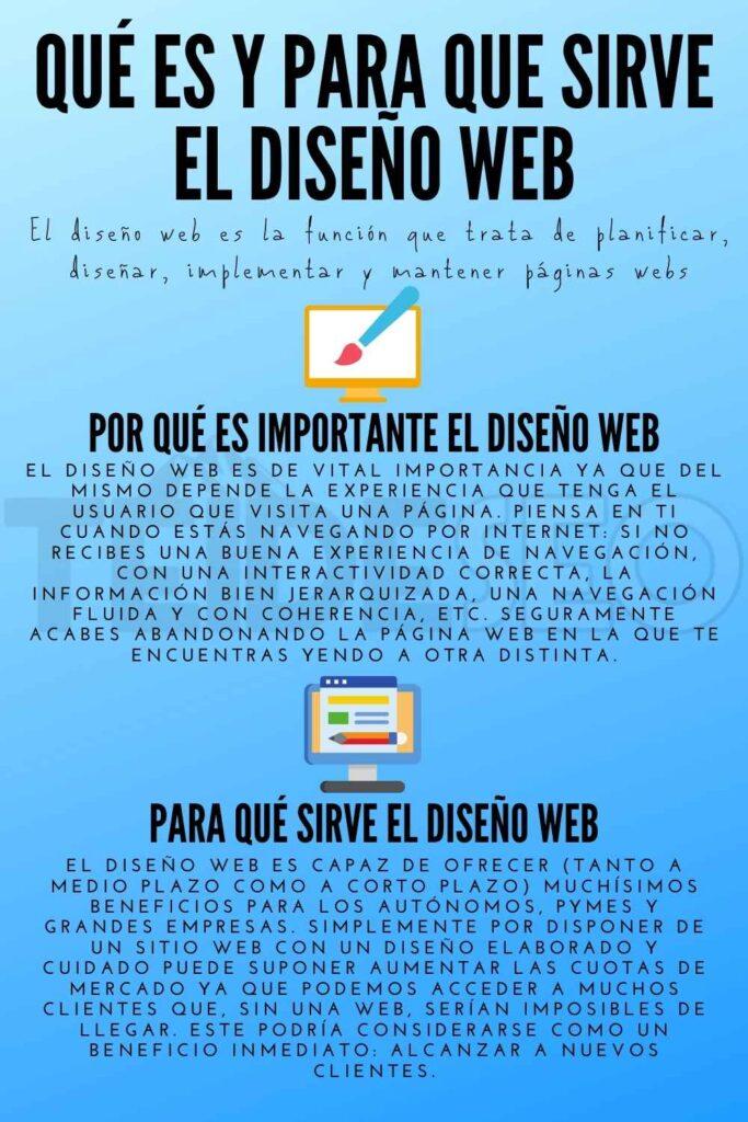 qué es y para qué sirve el diseño web