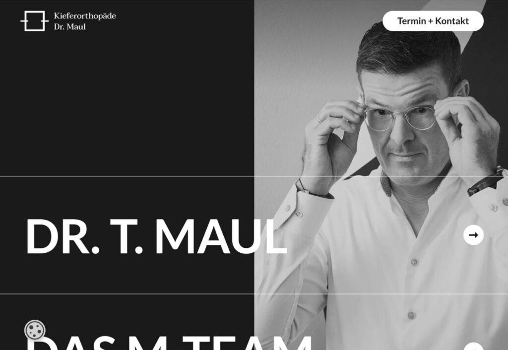 Dr. Maul diseño web