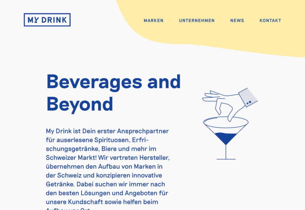 My Drink diseño web