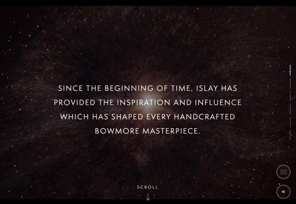 bowmore diseño web
