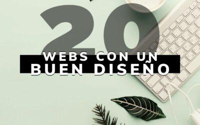 20 Mejores sitios web nuevos